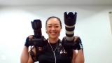3日放送のMBSテレビ『戦え!スポーツ内閣』にリモート出演する『RIZIN』公式カメラマンの保高幸子さん (C)MBS
