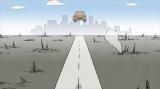 6月11日(木)「新宿ランデブー」=ショートアニメ『大家さんと僕』新作、NHK総合で6月8日〜12日に放送