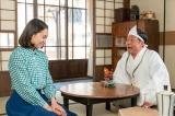 連続テレビ小説『エール』第12週・第56回(6月15日放送)より。10年ぶりに地上に戻ってきた安隆(光石研)と再会した音(二階堂ふみ)の反応は?(C)NHK