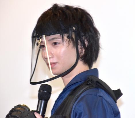 映画『三大怪獣グルメ』舞台あいさつに参加した植田圭輔 (C)ORICON NewS inc.