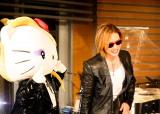 (左から)yoshikitty、YOSHIKI