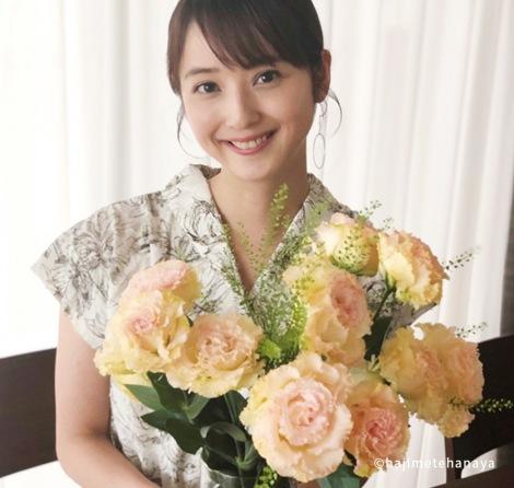サムネイル 佐々木希が特設サイト『はじめて花屋』の開店記念アンバサダーに就任