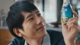 日清オイリオグループ『笑顔にするエナジー 植物のチカラ』篇に出演する二宮和也