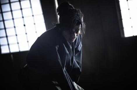 復讐に燃える武士を演じる山崎賢人(C)2020 CRAZY SAMURAI MUSASHI Film Partners