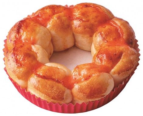 ミスタードーナツの新商品『ポン・デ・ちぎりパン』の明太マヨソース味