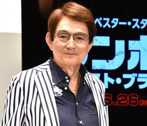 映画『ランボー ラスト・ブラッド』公開記念イベントに登壇したささきいさお (C)ORICON NewS inc.