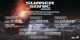 オンランフェスとして開催される『SUMMER SONIC 2020』ラインナップ