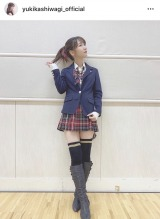 12年前、前田敦子が着ていた衣装を着る柏木由紀(写真はインスタグラムより、事務所許諾済み)