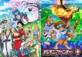 新作放送が再開されるテレビアニメ『ワンピース』と『デジモンアドベンチャー:』