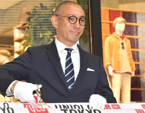 團十郎白猿襲名披露が延期も前向きに考えを述べていた市川海老蔵=UNIQLOのグローバル旗艦店『UNIQLO TOKYO』のオープニングセレモニー(C)ORICON NewS inc.