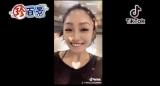 6月14日放送、『ナニコレ珍百景』で紹介された安藤美姫の「氷上で高速スピン…回りながら撮影していたのは安藤美姫さん」 (C)テレビ朝日