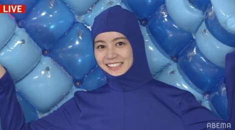 『乃木坂46時間TV』オープニングを飾ったのは全身タイツ姿の生田絵梨花(C)AbemaTV,Inc.