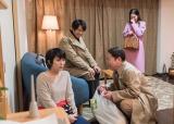 6月21日放送、ドラマスペシャル『スイッチ』(左から)松たか子、眞島秀和、阿部サダヲ、中村アン (C)テレビ朝日