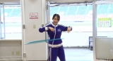 フラフープ2組目勝者は向井葉月=『3期生運動能力女王決定戦』より(C)AbemaTV,Inc.