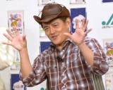井戸田潤、バイクでもらい事故