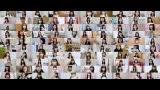 AKB48の現役メンバー105人も全員参加(C)AKB48/キングレコード