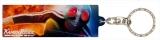 仮面ライダーストア東京オリジナルグッズ=ステーションキーホルダー-仮面ライダー1号-(裏)(C)石森プロ・テレビ朝日・ ADK EM ・東映  (C) 石森プロ・東映