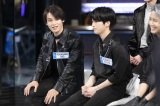 『KCON:TACT 2020 SUMMER』に出演したJO1(左から)與那城奨、木全翔也
