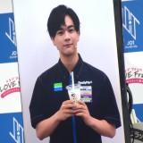 ファミリーマート『JO1×フラッペ 夏の新フレーバー推しメンバー発表』イベントに登壇したJO1・豆原一成 (C)ORICON NewS inc.
