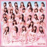 NGT48 5thシングル「シャーベットピンク」通常盤TYPE-A