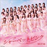 NGT48 5thシングル「シャーベットピンク」通常盤TYPE-B