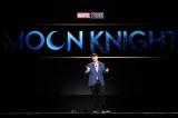 『D23Expo2019』Disney+ Showcaseで『Moon Knight(ムーン・ナイト)』の実写化を発表したマーベルのケヴィン・ファイギ社長(C)2019 Getty Images