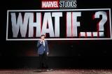 2021年初公開予定のアニメーションシリーズ『What If ...?』=『D23Expo2019』Disney+ Showcase(C)2019 Getty Images
