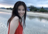 今田美桜写真集『ラストショット』オフショット(公式ツイッター【@mio2nd0121】より)