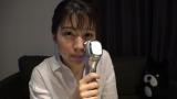 1週間で8つの美容グッズを試す企画「美容グッズ漬け生活」に挑戦した田中萌アナ(C)テレビ朝日