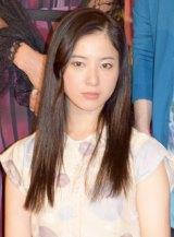約10ヶ月ぶりに公の場に姿を見せた吉高由里子=舞台『大逆走』のフォトコール後の取材 (C)ORICON NewS inc.