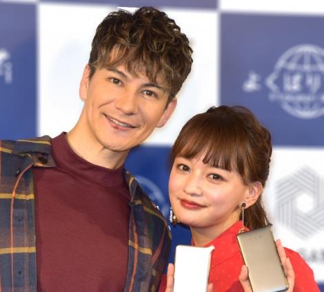 サムネイル 結婚記念日を迎えたJOY&わたなべ麻衣夫妻 (C)ORICON NewS inc.