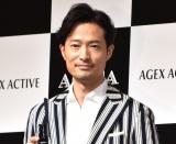 メンズスキンケアブランド『AGICA(アジカ)』の新商品発表会に出席した前川泰之 (C)ORICON NewS inc.