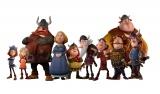 『小さなバイキング ビッケ』に登場するフラーケ族の仲間たち(C)2019 Studio 100 Animation ? Studio 100 Media GmbH ? Belvision