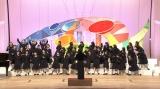 写真は『Nコン』2019年度「高等学校の部」優勝校の豊島岡女子学園高等学校の歌唱シーン (C)NHK