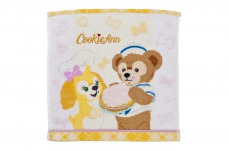 クッキー・アン&ダッフィー ミニタオル\870 (C)Disney