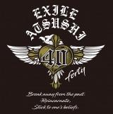 EXILE ATSUSHI『40 〜forty〜』ロゴ