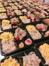 『INGプロジェクト2020〜お弁当でひとり親家庭の力に〜』の模様
