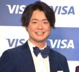 Visaの『キャッシュレス推進プロジェクト2020』にゲストとして登場したぺこぱ・シュウペイ (C)ORICON NewS inc.