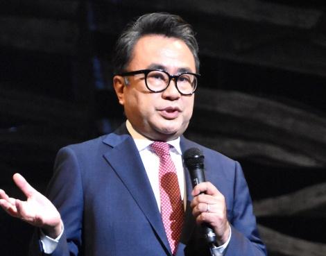 新作舞台『大地(Social Distancing Version)』の公開フォトコールに出席した三谷幸喜 (C)ORICON NewS inc.