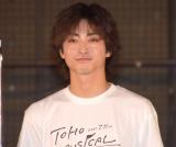 東宝のミュージカルプロジェクト『TOHO MUSICAL LAB.』の製作発表に参加した木村達成 (C)ORICON NewS inc.