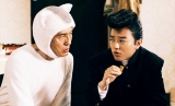 ミニドラマ『きょうの猫村さん』第13話(7月1日放送)不良中学生の強役で染谷将太(右)が初登場 (C)テレビ東京