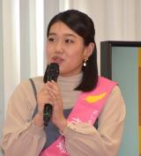 『第70回 社会を明るくする運動−広がり、つながる未来の輪。−』キックオフイベントに参加した横澤夏子 (C)ORICON NewS inc.