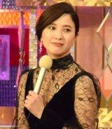 『第41回日本アカデミー賞』で優秀主演女優賞を受賞した吉高由里子 (C)ORICON NewS inc.