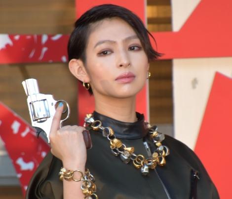 映画『銃2020』(10日公開)の完成発表記者会見に出席した日南響子 (C)ORICON NewS inc.