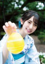 『BUBKA』7・8月合併号の表紙を飾った日向坂46・金村美玖(画像は付録の特大ポスター)