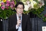 映画『一度も撃ってません』公開記念トークショーに出席した阪本順治監督