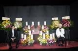 映画『一度も撃ってません』公開記念トークショーに出席した(左から)阪本順治監督、石橋蓮司