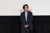 映画『水曜日が消えた』生中継舞台あいさつに登壇した中村倫也