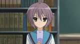 人気アニメ『涼宮ハルヒの憂鬱』の場面カット
