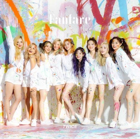 TWICE日本6枚目シングル「Fanfare」(7月8日発売)通常盤